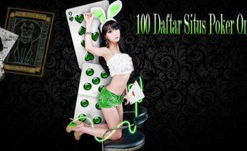 100 daftar situs poker
